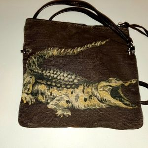 Lacoste Authentic Tapestry crossbody bag
